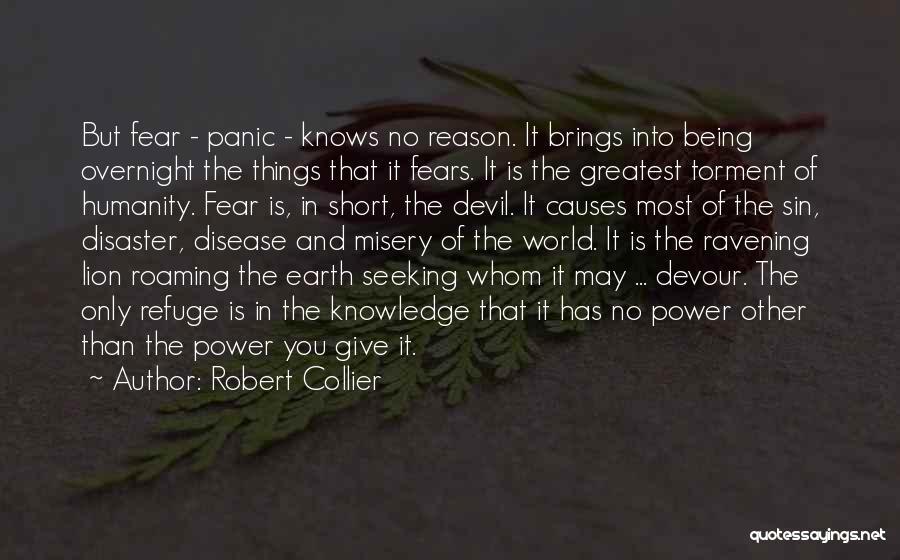 Devil Devour Quotes By Robert Collier