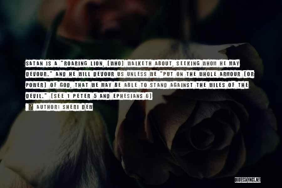 Devil Devour Quotes By Sheri Dew