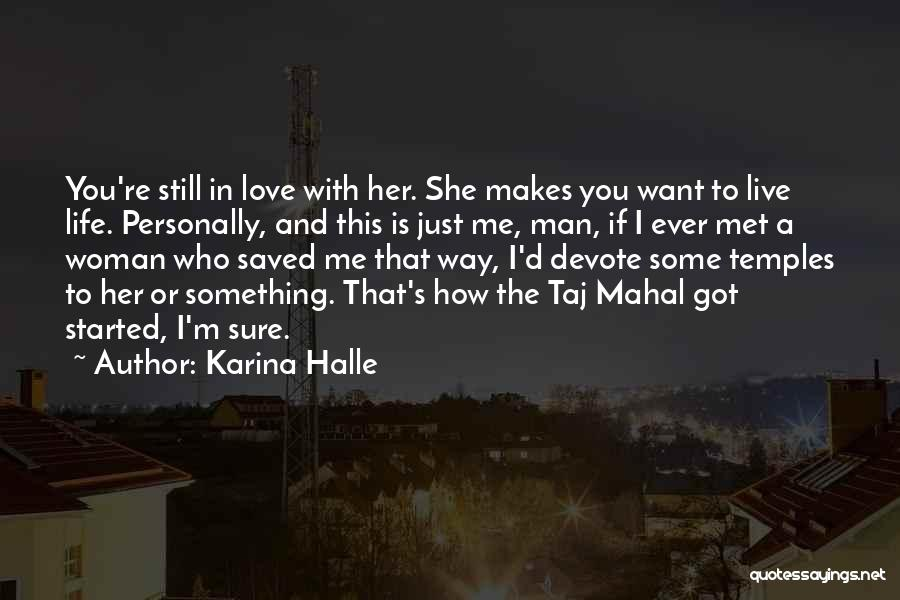 Dex Foray Quotes By Karina Halle