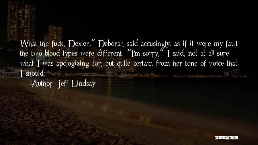 Dexter Voice Over Quotes By Jeff Lindsay