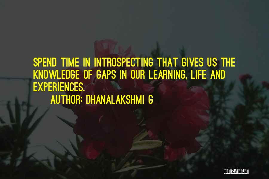 Dhanalakshmi G Quotes 1567780