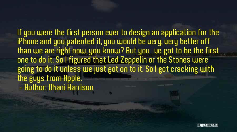 Dhani Harrison Quotes 181218