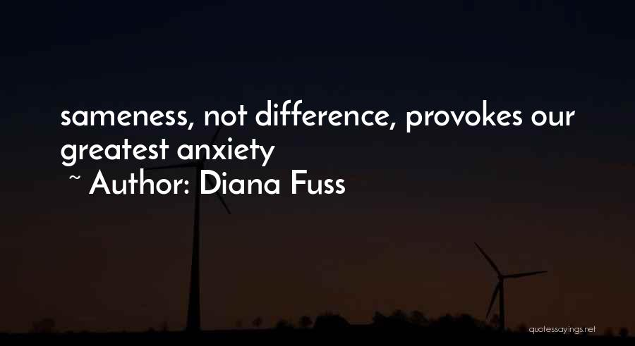 Diana Fuss Quotes 1886026