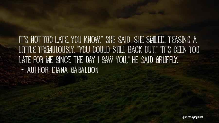 Diana Gabaldon Quotes 1940414