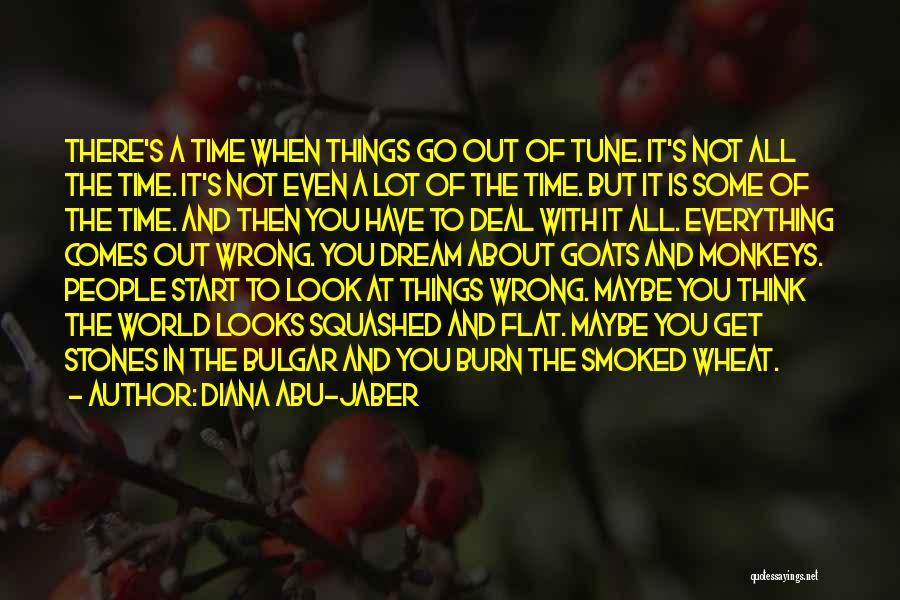 Diana's Quotes By Diana Abu-Jaber