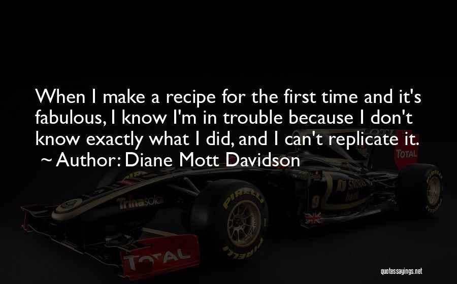 Diane Mott Davidson Quotes 1093945