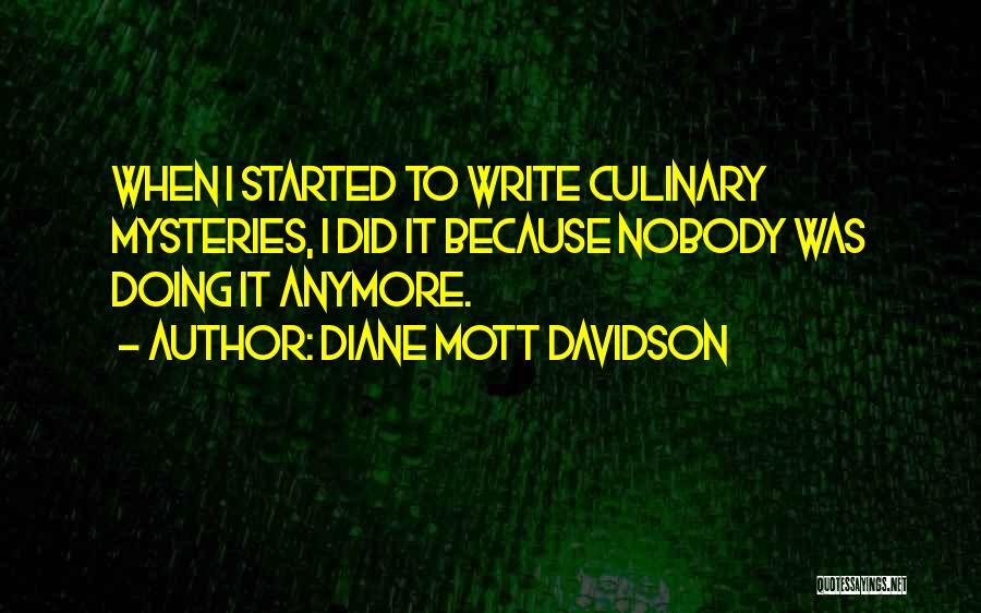 Diane Mott Davidson Quotes 563254