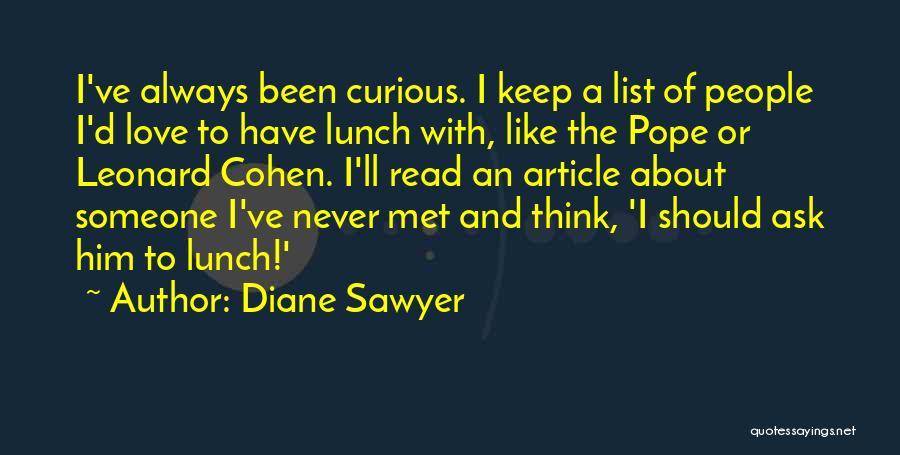 Diane Sawyer Quotes 1723904