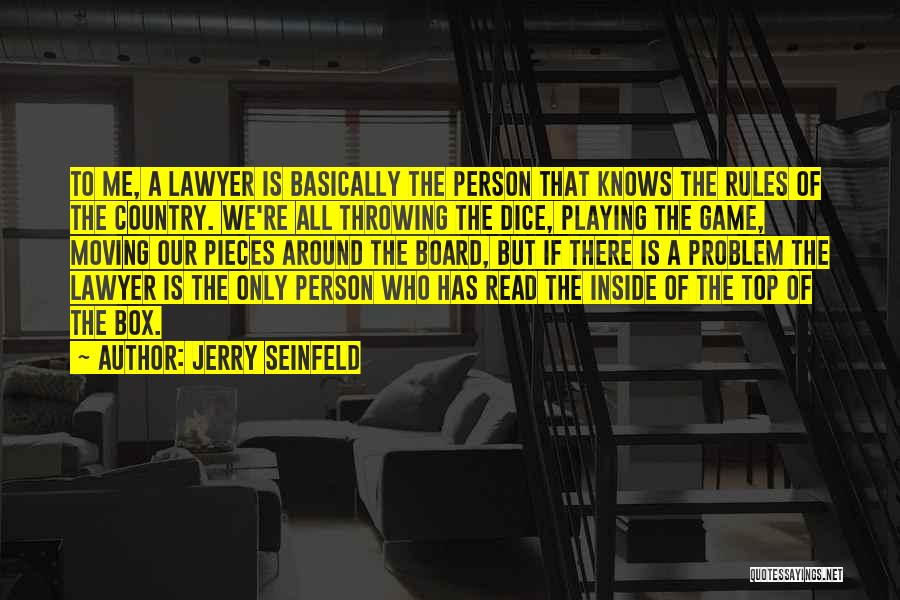 Dice Rules Quotes By Jerry Seinfeld