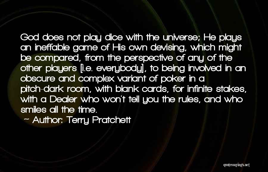 Dice Rules Quotes By Terry Pratchett