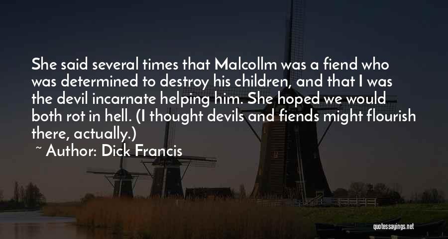 Dick Francis Quotes 1284103
