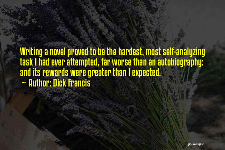 Dick Francis Quotes 2027578