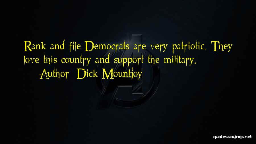 Dick Mountjoy Quotes 1719250
