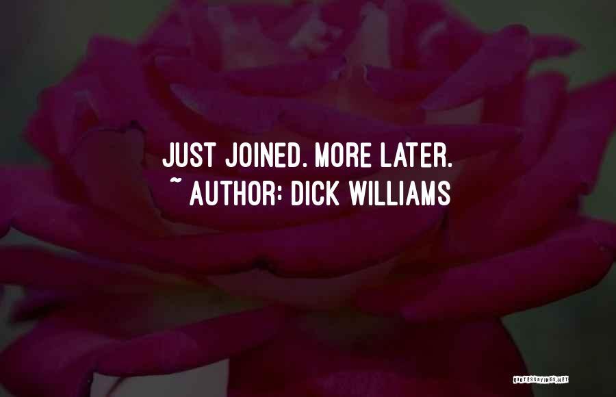 Dick Williams Quotes 170204