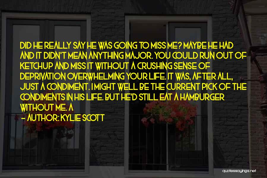 Did You Miss Me Quotes By Kylie Scott