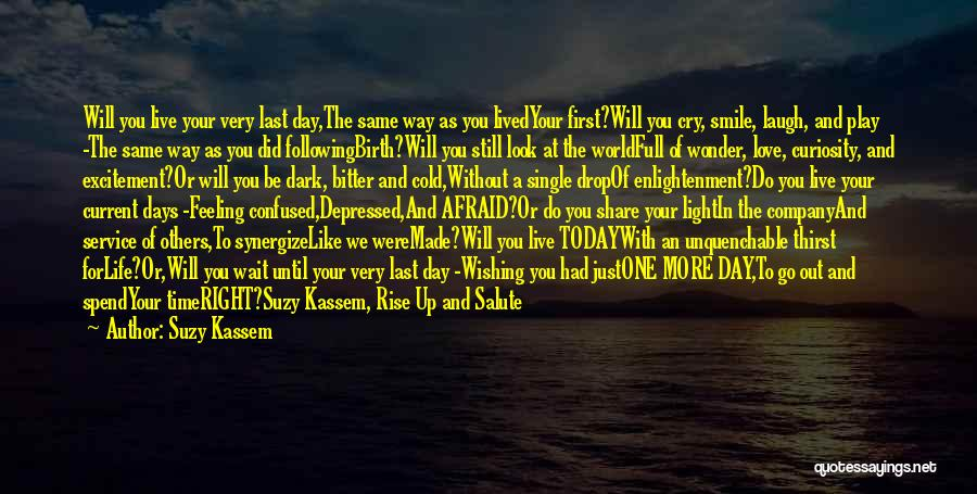 Did You Smile Today Quotes By Suzy Kassem