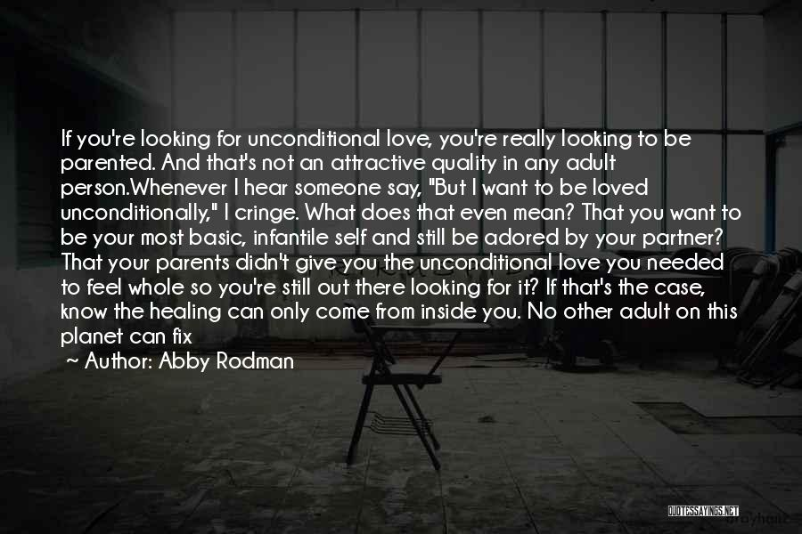 Didn't Give Up Quotes By Abby Rodman