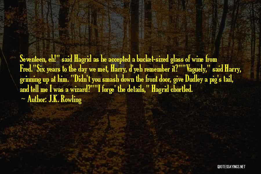 Didn't Give Up Quotes By J.K. Rowling