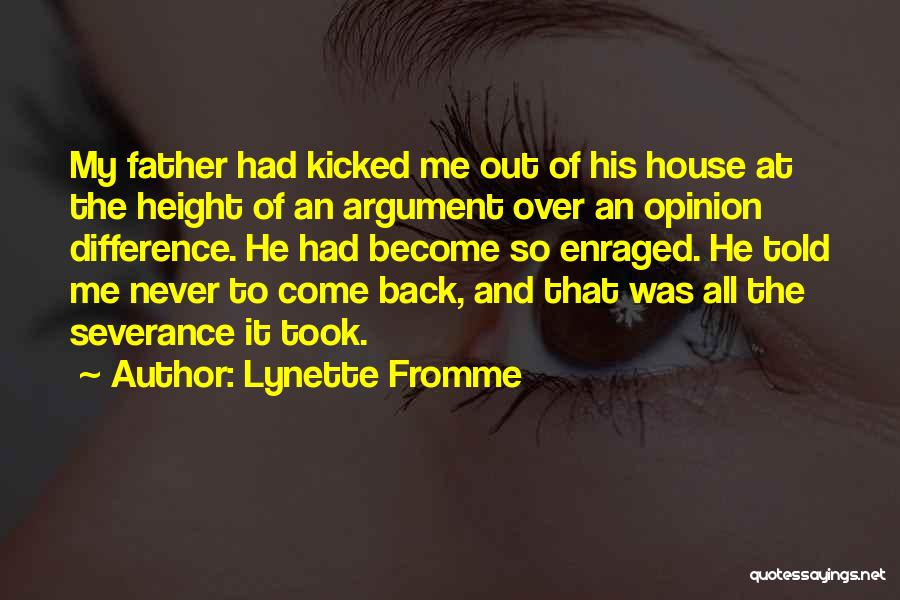 Difference In Height Quotes By Lynette Fromme