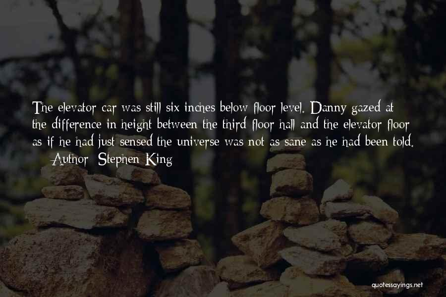 Difference In Height Quotes By Stephen King