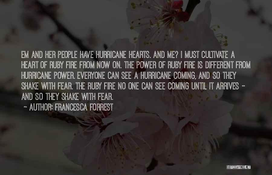 Different From Everyone Quotes By Francesca Forrest