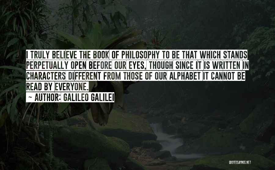 Different From Everyone Quotes By Galileo Galilei