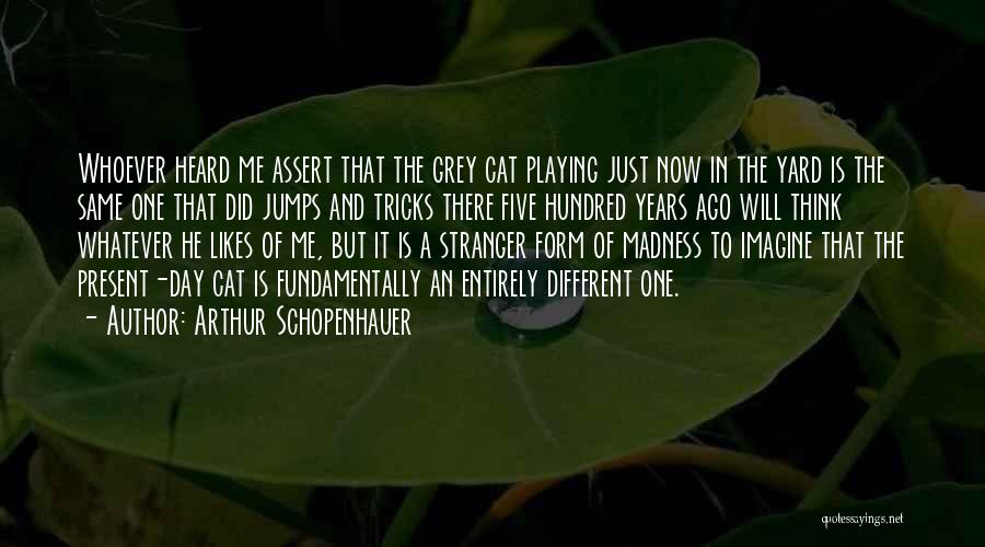 Different Likes Quotes By Arthur Schopenhauer