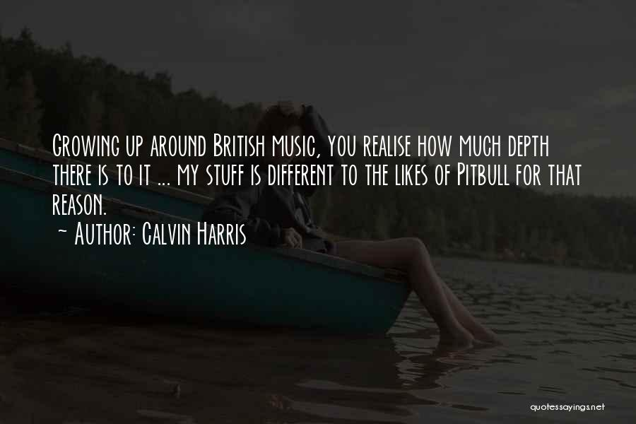 Different Likes Quotes By Calvin Harris
