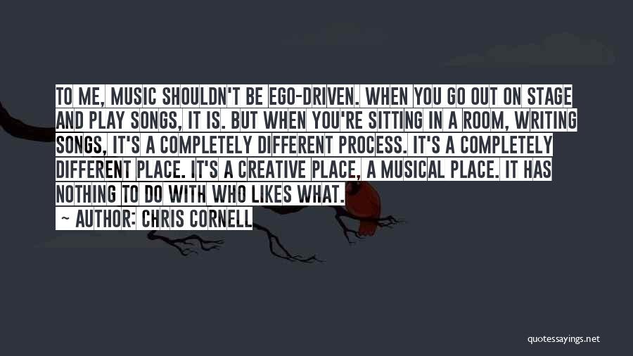 Different Likes Quotes By Chris Cornell