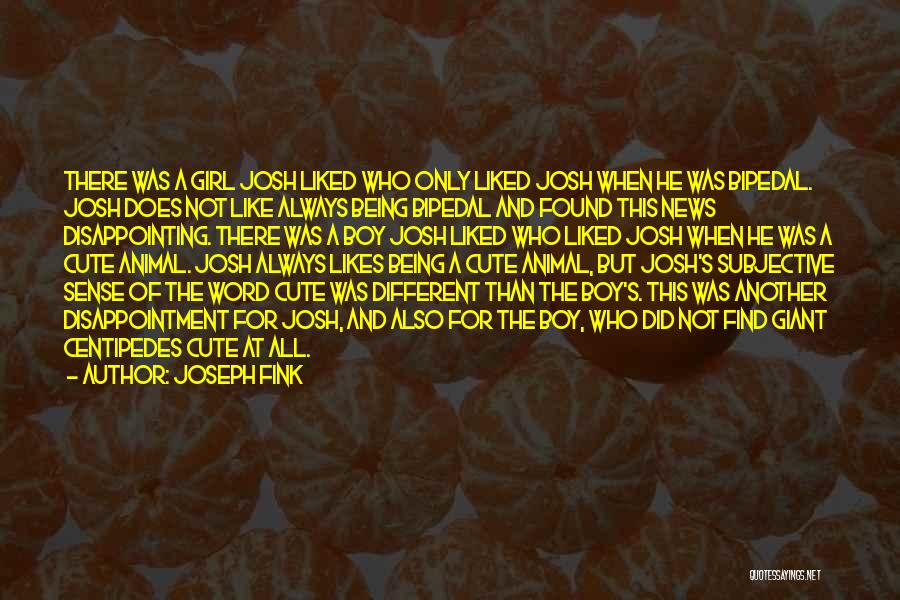 Different Likes Quotes By Joseph Fink