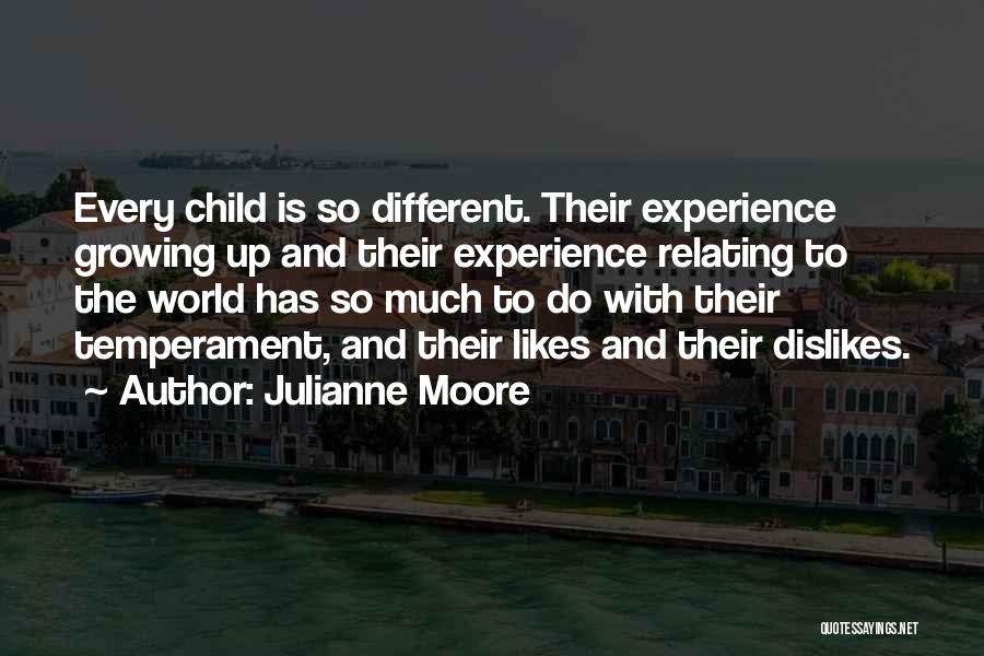 Different Likes Quotes By Julianne Moore