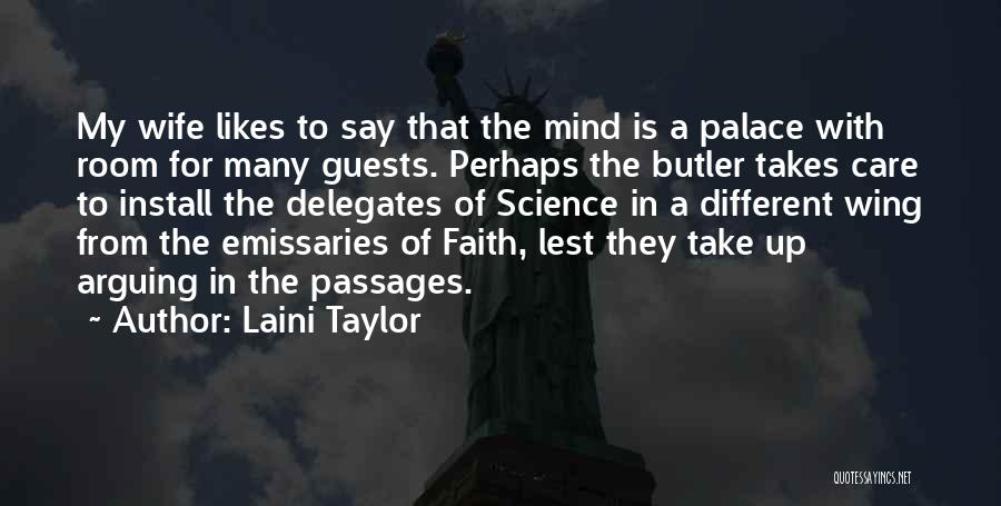 Different Likes Quotes By Laini Taylor