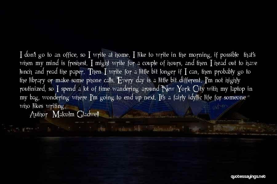 Different Likes Quotes By Malcolm Gladwell