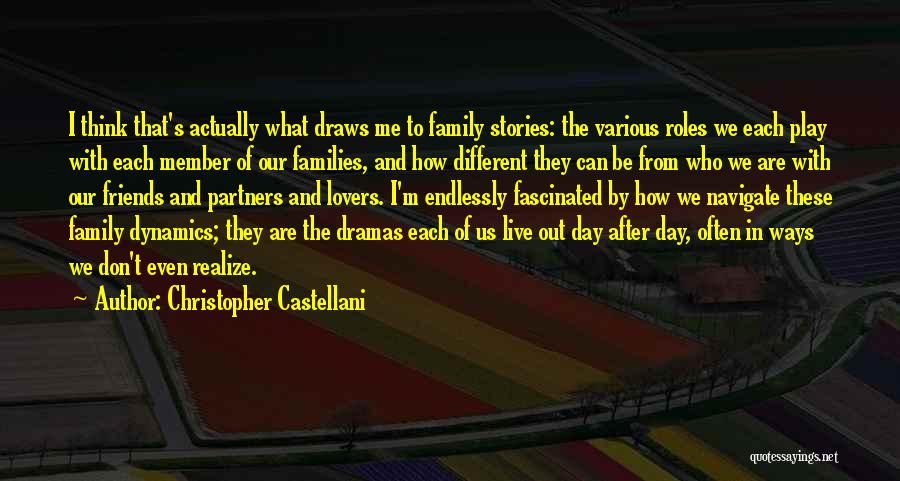 Different Lovers Quotes By Christopher Castellani