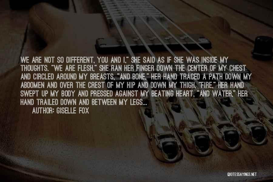 Different Lovers Quotes By Giselle Fox