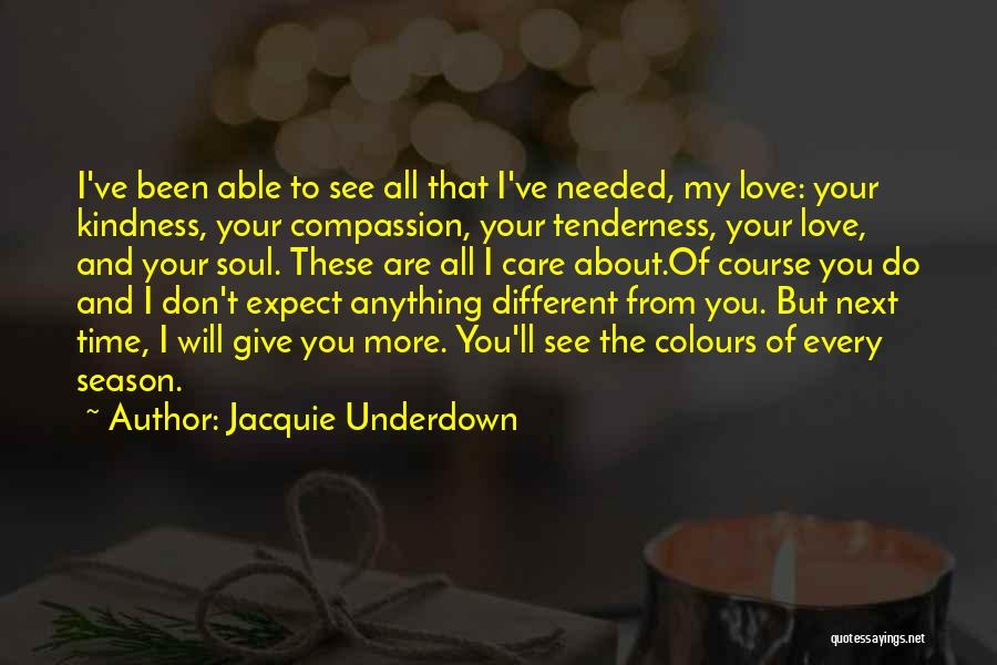 Different Lovers Quotes By Jacquie Underdown