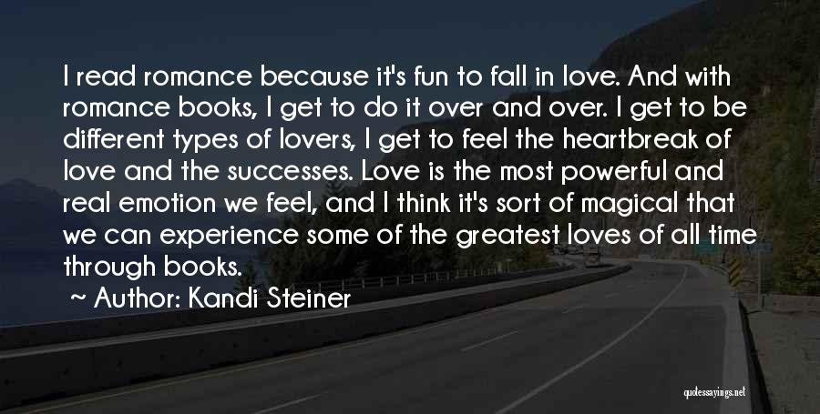 Different Lovers Quotes By Kandi Steiner
