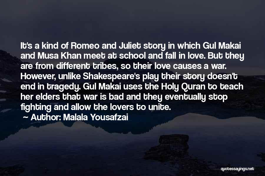 Different Lovers Quotes By Malala Yousafzai