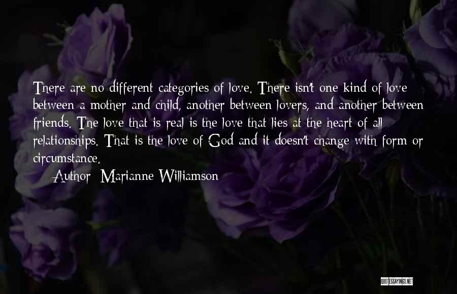 Different Lovers Quotes By Marianne Williamson