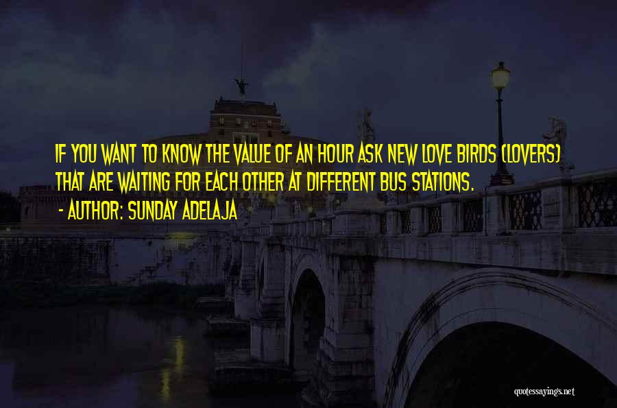 Different Lovers Quotes By Sunday Adelaja