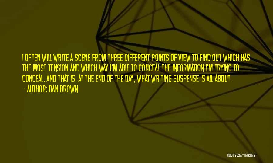 Different Points Of View Quotes By Dan Brown