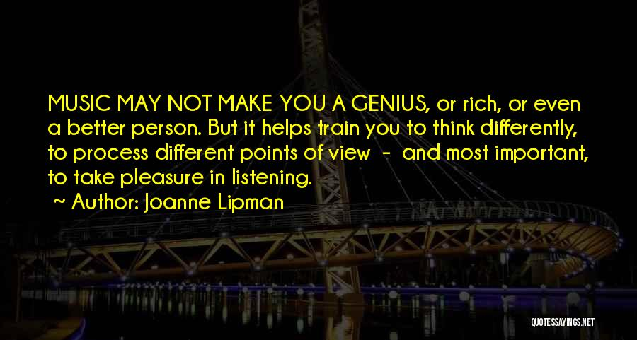 Different Points Of View Quotes By Joanne Lipman