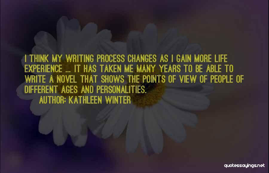 Different Points Of View Quotes By Kathleen Winter
