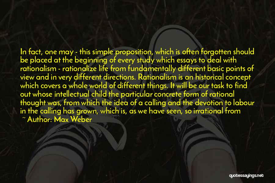 Different Points Of View Quotes By Max Weber
