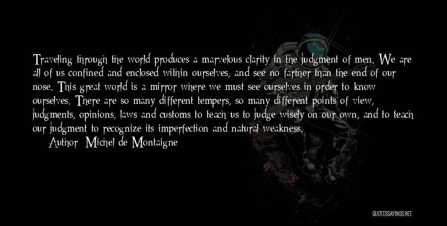 Different Points Of View Quotes By Michel De Montaigne