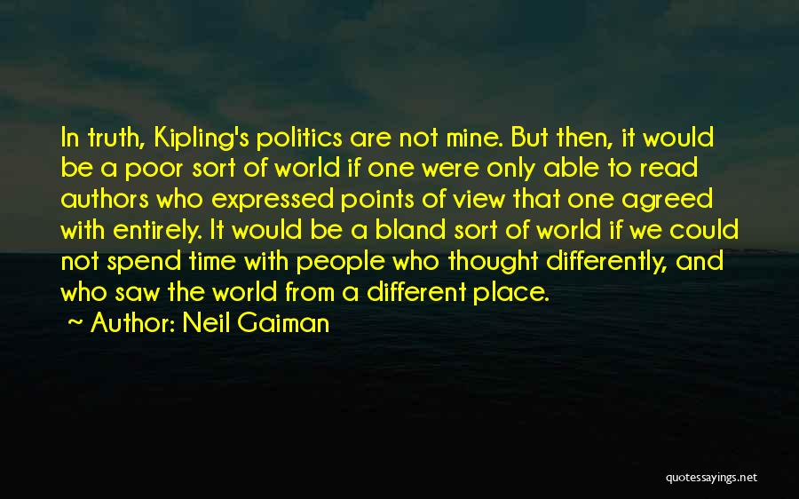Different Points Of View Quotes By Neil Gaiman