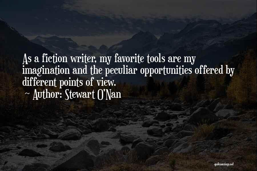 Different Points Of View Quotes By Stewart O'Nan