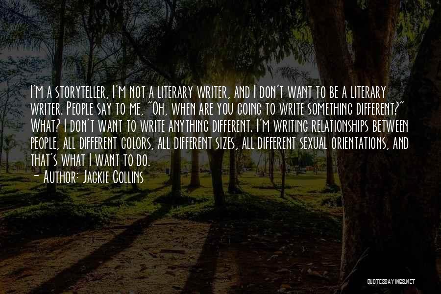 Different Sizes Quotes By Jackie Collins