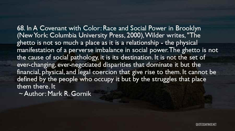 Different Sizes Quotes By Mark R. Gornik