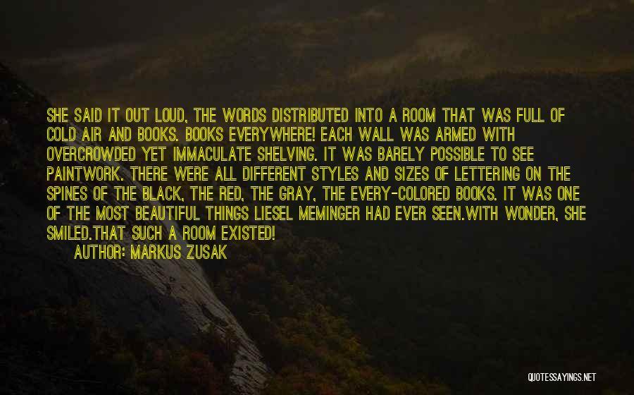 Different Sizes Quotes By Markus Zusak